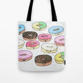 Kawaii Donuts Tote Bag