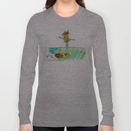 Hang 10 Lady Slider Long Sleeve T-shirt