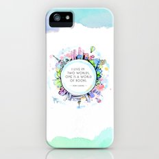 Rory Gilmore Bookish World iPhone (5, 5s) Slim Case
