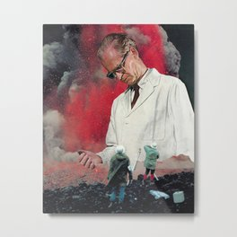 The Scientist Metal Print