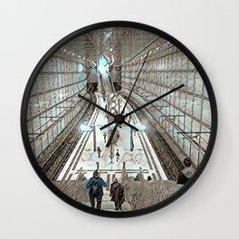 Leipzig Undergound Wall Clock