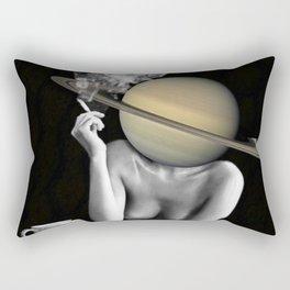 Saturn girl Rectangular Pillow