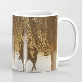 The winter camp - Crow (Apsaroke) Indians Coffee Mug