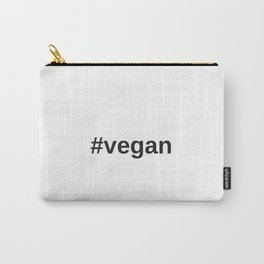 vegan hashtag Carry-All Pouch