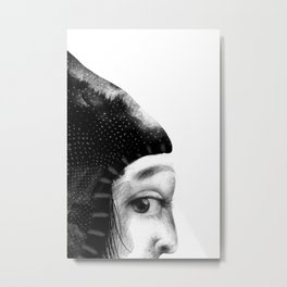 Emma's cautiousness Metal Print