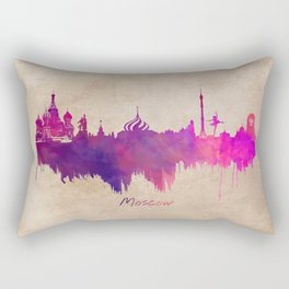 Skyline Moscow purple Rectangular Pillow
