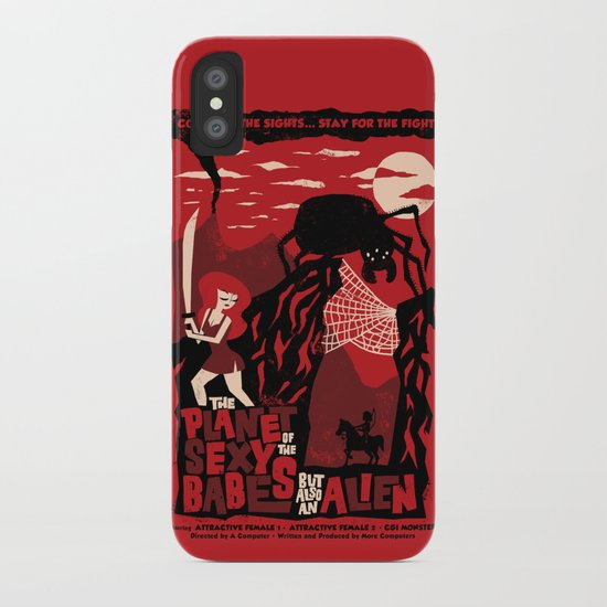 B-Movie iPhone Case