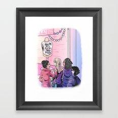 Word Art No. 1 Framed Art Print