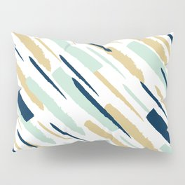 Diagonal strokes Pillow Sham
