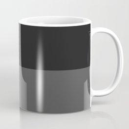 Flat Grey Horizontal Design Coffee Mug