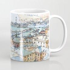 Panoramic of Genoa Mug