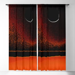 March New Moon Blackout Curtain