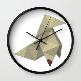 Origami Killer Wall Clock
