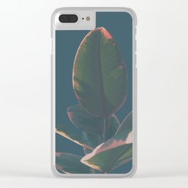 Rubber Tree Clear iPhone Case