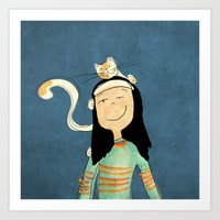 Marcela Art Print