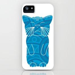 Tiki Cat iPhone Case