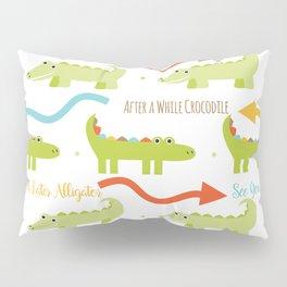 Alligator Crocodile Pillow Sham