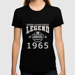 Living Legend Since 1965 T-Shirt T-shirt