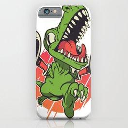 T-Rex Grabber T-Shirt for Dinosaur Fans iPhone Case