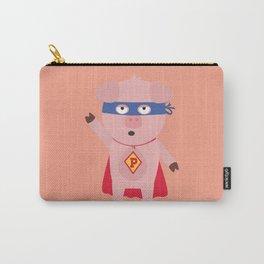 Superhero Pig  Bmo2d Carry-All Pouch