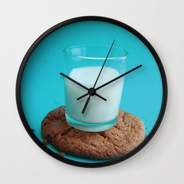 Cookie as a Coaster Wall Clock