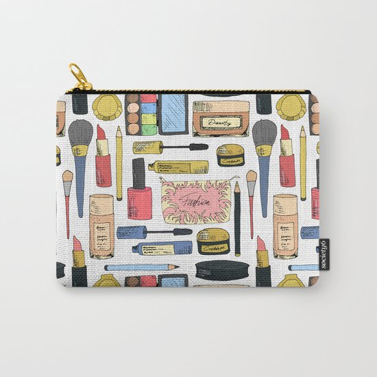 Cosmetic pattern Carry-All Pouch