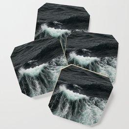 Dark Ocean Wave Coaster