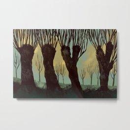 A Frisian Landscape Metal Print