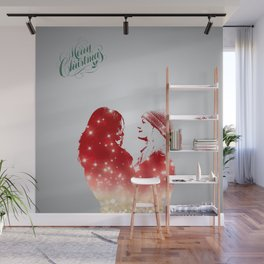 SwanQueen Christmas Edition Wall Mural