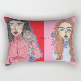Angels & Demons Rectangular Pillow