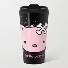 hello piggy Metal Travel Mug