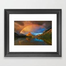 colour home Framed Art Print