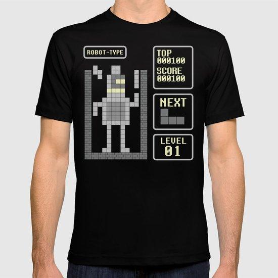 TETRIS: Robot Type T-shirt