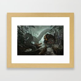 Cornered Framed Art Print