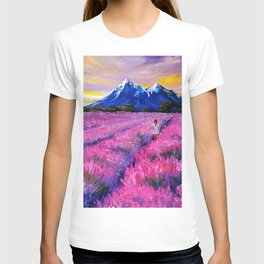 LAVANDER DREAMS T-shirt