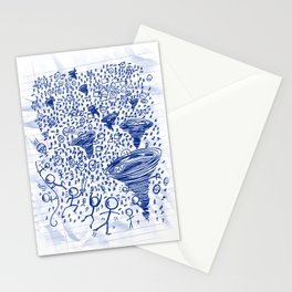 Crisis on Infinite Notebooks Stationery Cards