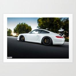 Porsche Carrera 911 Art Print