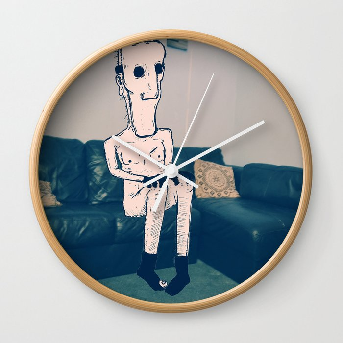 Billy the killer Wall Clock by dsaintd | Society6 Billy The Killer