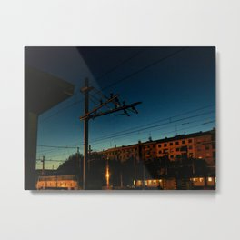Milano, Central Station - 5.45am Metal Print