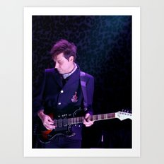 Jamie Hince // The Kills Art Print