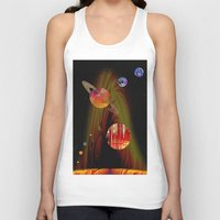 solar system Tank Tops featuring solar system I by donphil