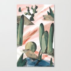 Pasancana & Quehualliu Canvas Print
