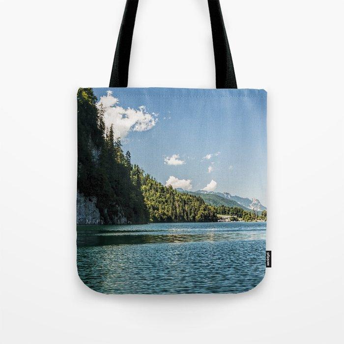 Koenigssee lake Bavaria Mountains Alps on #Society6 Tote Bag