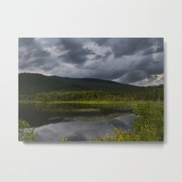 Long Pond in Eden, Vermont Metal Print