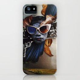 Restless Spirit   Collage iPhone Case
