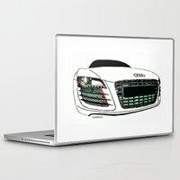 audi Laptop & iPad Skins featuring Zaklassic - Z-06 by Zak Ashton