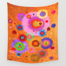 Abstract #427 Wall Tapestry