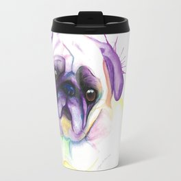 Chloe (The pug form Vancouver) Travel Mug