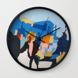 The Crossing Wall Clock