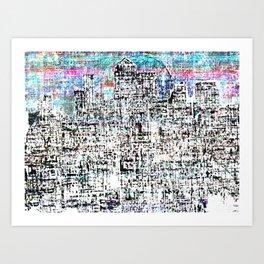 Canary Wharf 2 Art Print